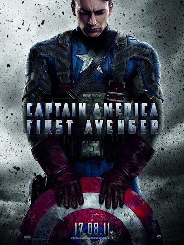Captain America, first Avenger, affiche