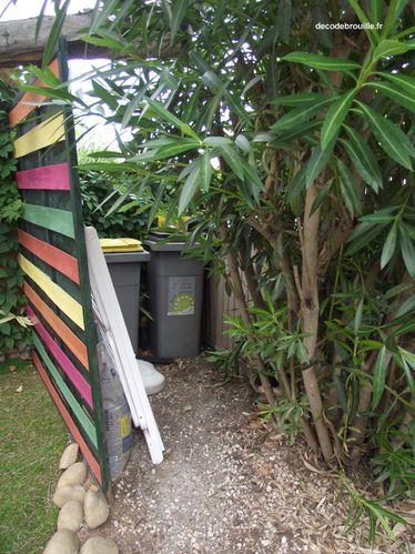 comment cacher ses poubelles de jardin comment cacher ses. Black Bedroom Furniture Sets. Home Design Ideas