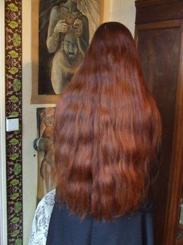 Cheveux longs entretien