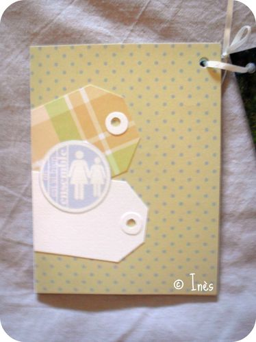 Scrap'Inès Mini Album Bébé Garçon Clean and Si-copie-12