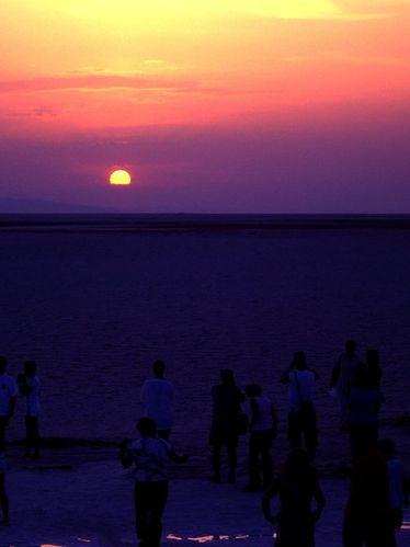 Tunisie Couché Soleil