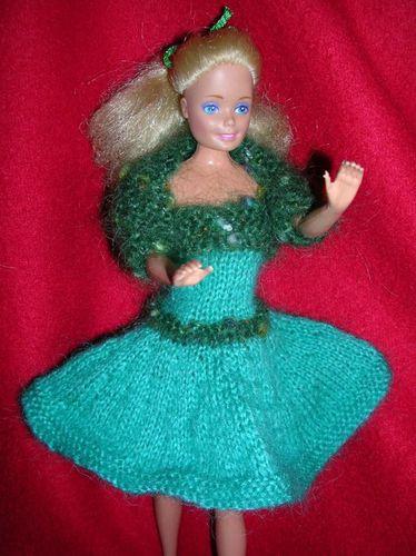 Hortens - robe évasée