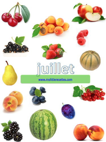 Fruits de juillet