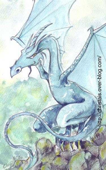 Wyverne-bleue