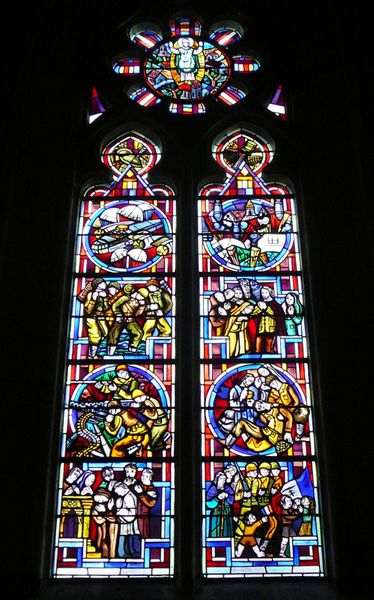 123b Window to the Allies, Biville Church, Biville