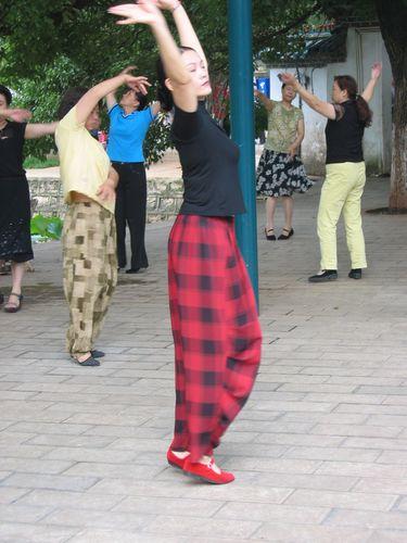Kunming- danseuse