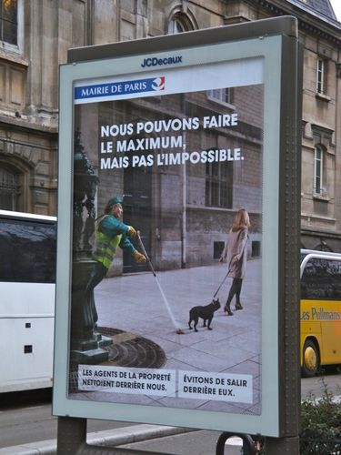 affiche propreté maximum Paris 0159