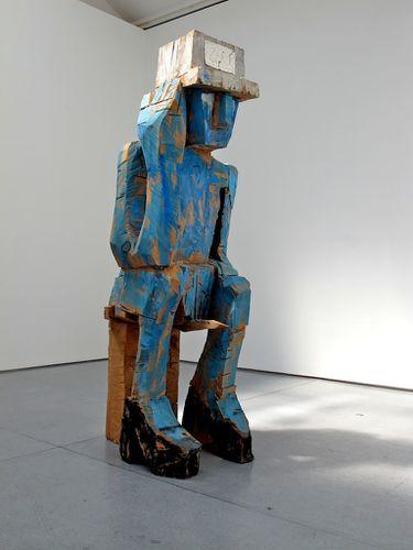 Baselitz sculpture Volk Ding Zero 1
