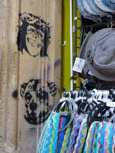 street-art pochoir Montmartre 2