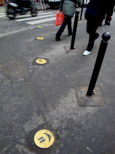 smiley street-art trottoir 4