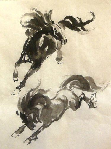 Lutin et monture en démesure Duo-de-chevaux-001