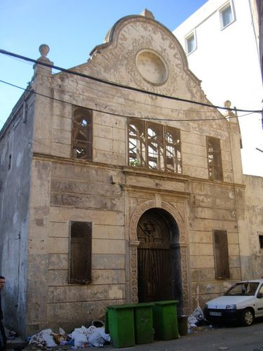 Synagogue de la Rue de Dijon. Babel-Oued