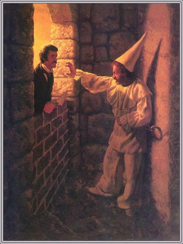 the irony in edgar allan poes the cask of amontillado Irony is a literary device often associated with humorous writing some readers may be happy when they understand what the irony is the cask of amontillado by edgar allan poe contains an.