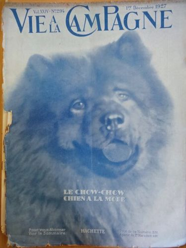 Chow-Chow, L'Illustration-couverture-19271201-DSC05551