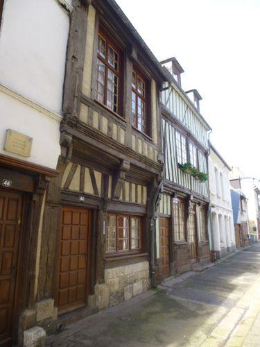 Quillebeuf sur Seine, Maison à pans de bois
