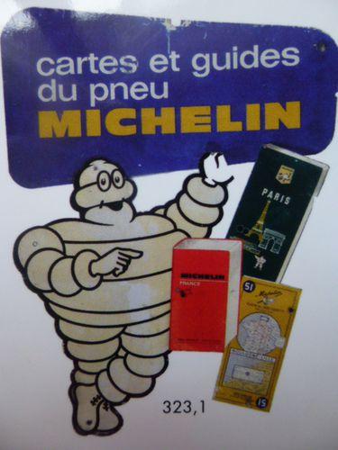 Michelin, plaque publicitaire