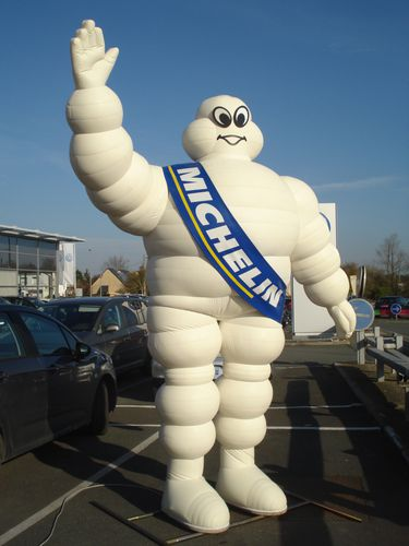 Michelin-Bonhomme- gonflable