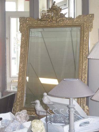 Miroir napol on iii deco a la maison for Miroir napoleon