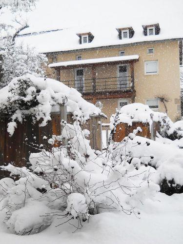 Janvier 2013 Aveyron Neige Gites les Vaquans 04