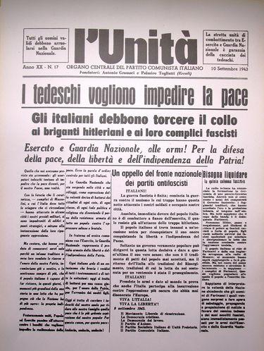 Unità 10 settembre 1943