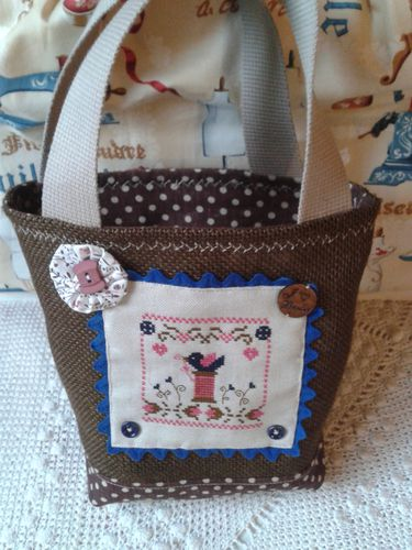 sac avec broderie florence
