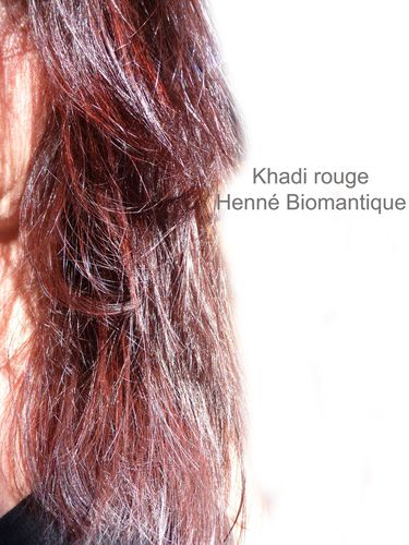 khadi rouge henn biomantique - Coloration Khadi Noisette