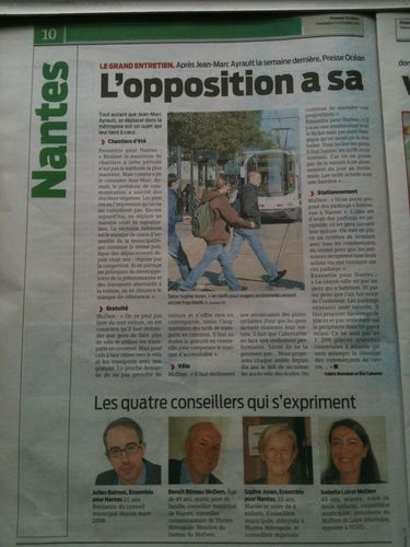 L'opposition a sa vision des dossiers Prese Ocean 07 10 201