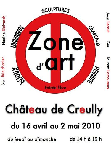 expo zone d'art Creully 2010