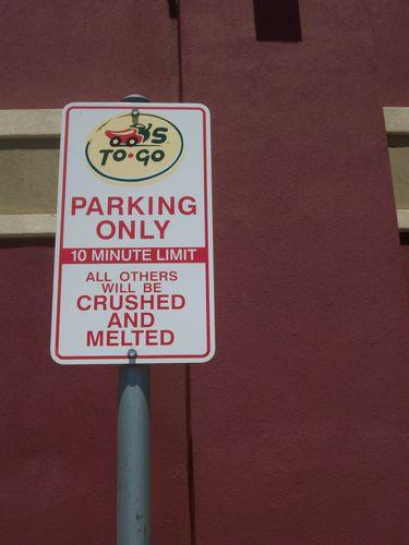 Chart parking