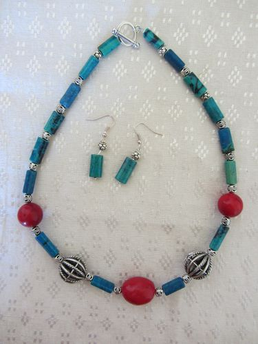 Turquoise corail