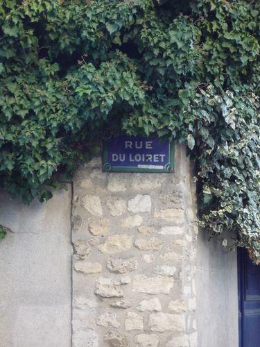 Mur couvert de lierre, rue du Loiret, Paris XIII, quartier