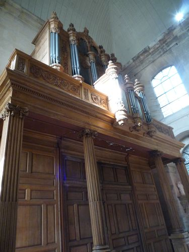 Grand orgue- Si Louis de la Pitié