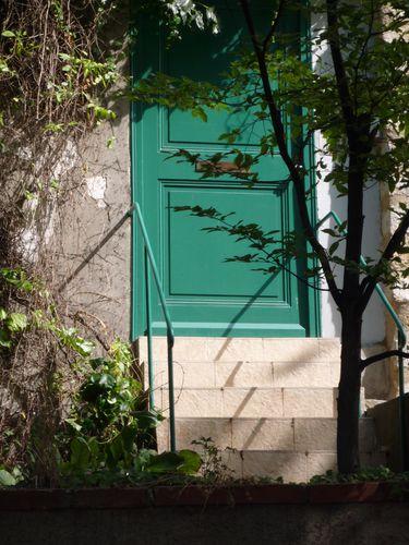 Rue des Cinq Diamants- porte d'entrée