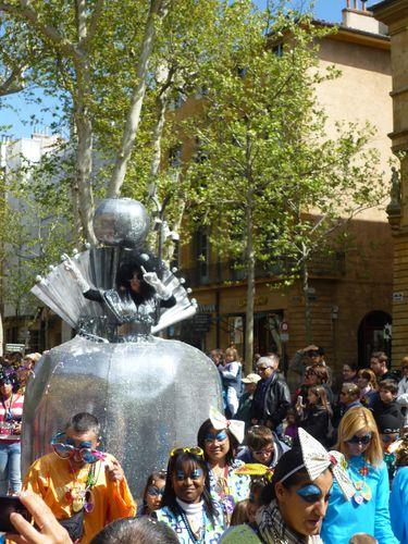 Carnaval Aix en Provence 2012