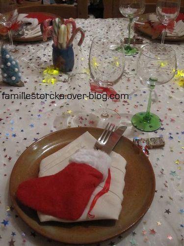 deco table noel