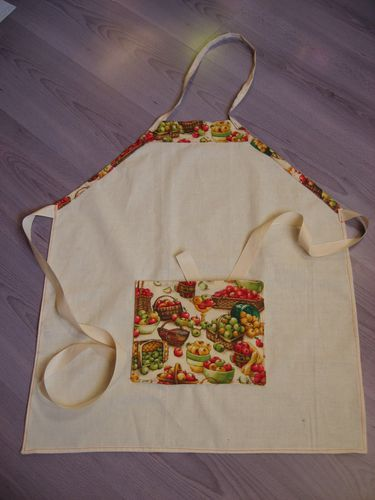 Tablier pour adulte petite taille tuto for Cuisine petite taille