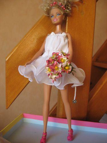2 robes de mariée pour barbie versions courtes et-copie-20