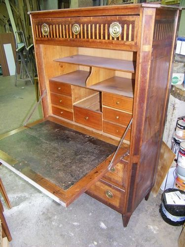 Secretaire Louis 16 Avant Restauration
