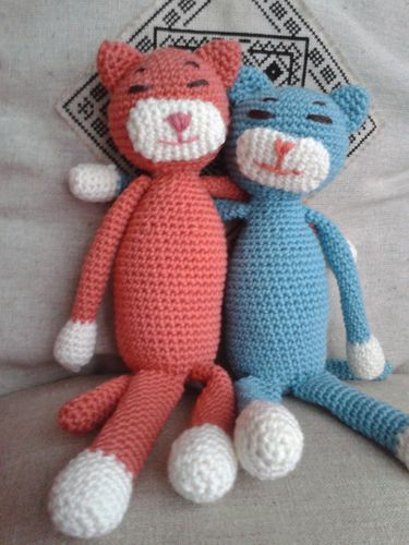 RUCHEAIDEES CHATS CROCHET