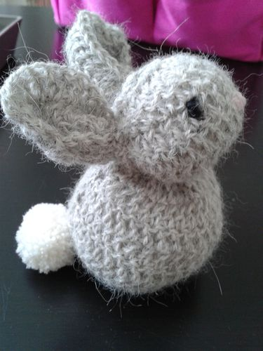 RUCHEAIDEES LAPIN GRIS