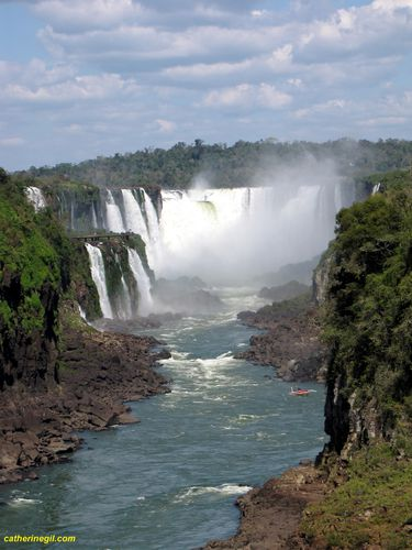 Cataractes d'Iguazu coté Argentin