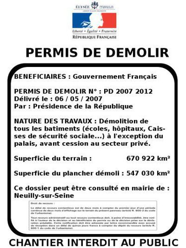 humour permis de d molir petit dessin qui valls. Black Bedroom Furniture Sets. Home Design Ideas