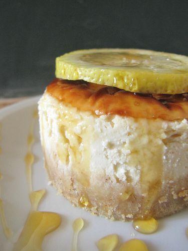 Cheesecake citron miel. sauté de tofu 020