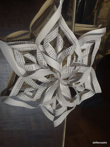Origami Flocon De Neige Le Blog De Evelyne