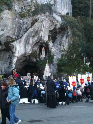 photo Lourdes 8 Décembre 2011