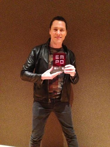 Tiësto winner EMPO award 2013