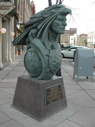 MITAKUYE OYASIN bronze Rapid City