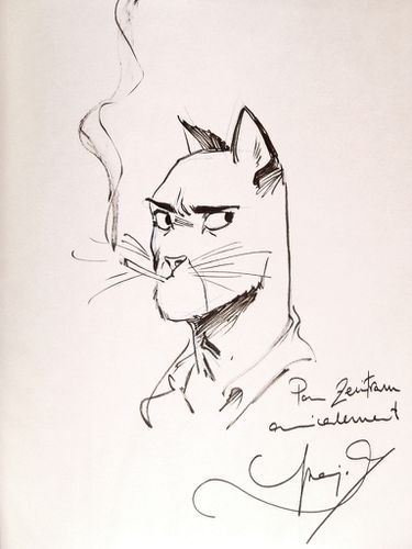 dédicace guarnido blacksad