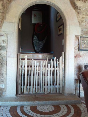 R alisation d 39 un portillon en bois flott s atelier for Realisation bois flotte