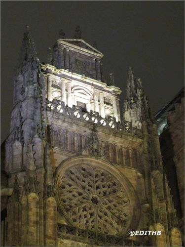 CATHEDRALE RODEZ NUIT (5)
